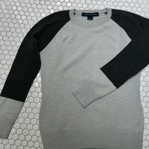 Women's French Connection baseball sweater:SizeLg